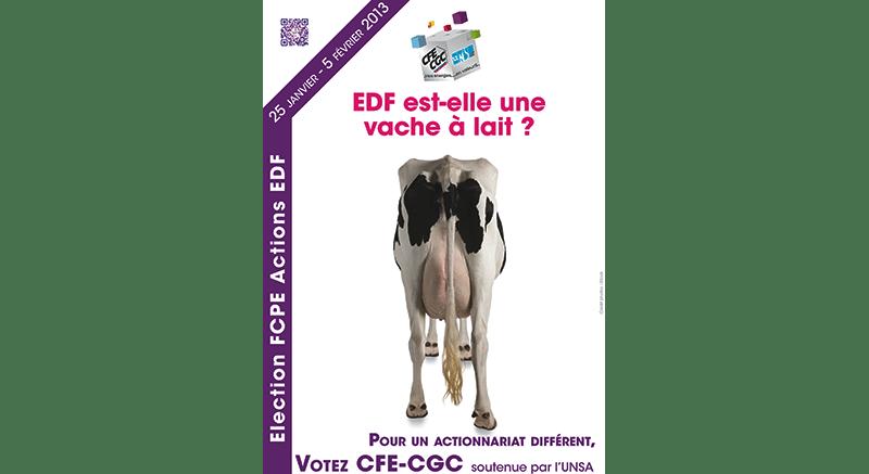 EDF est-elle une vache à lait ?