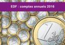 Les comptes annuels 2016 d'EDF marquent un tournant important