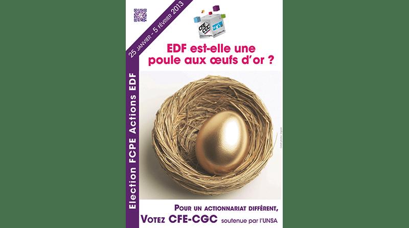 EDF est-elle une poule aux œufs d'or ?