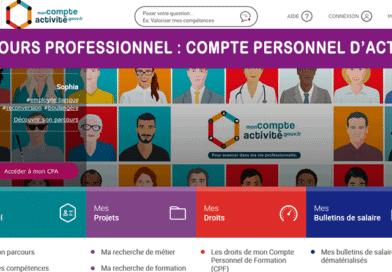 Parcours Professionnel : Le Compte Personnel d'Activité (CPA)