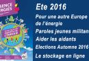 Présence Energies n° 893 – Ete 2016