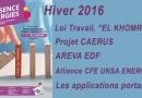 Présence Energies n° 895 – Hiver 2016