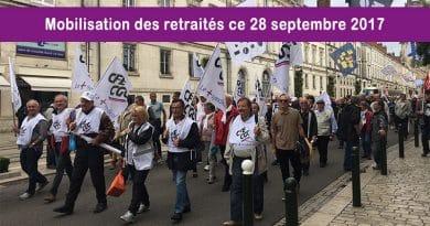 La CFE Énergies avec les retraités de Metz et Orléans