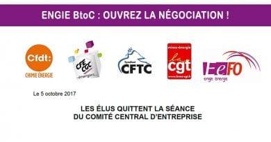 Solidarité avec les élus du CE Commercialisateur