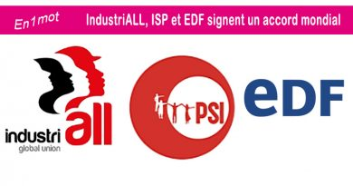 La Fédération CFE Énergies invitée lors de la signature