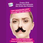 Une moustache pour booster ma carrière ? Affiche 2