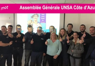 Création du bureau UNSA Énergies