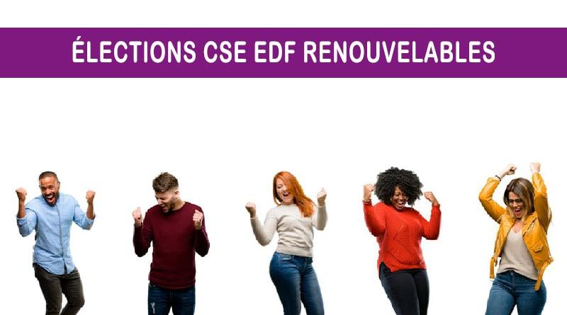 Un nouveau souffle sur EDF Renouvelables La CFE-CGC a le vent en poupe !