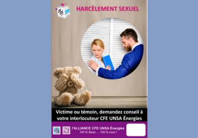 Harcèlements Sexuels : Victime ou témoin, demandez conseil…