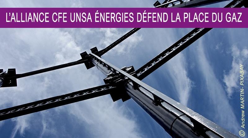 La transition énergétique doit se faire AVEC le gaz