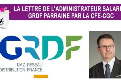 La lettre n° 24 de l'administrateur salarié GRDF