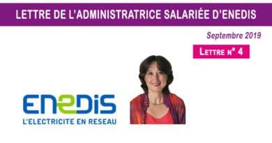 Lettre n° 4 de l'administratrice salariée d'Enedis