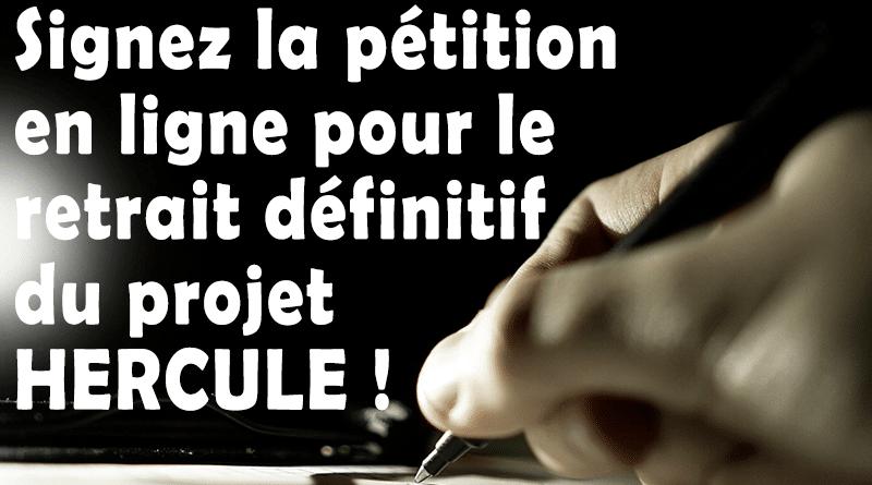"""Ensemble, exigeons le retrait pur et simple du projet de scission d'EDF """"Hercule"""""""