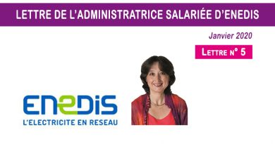 Lettre n° 5 de l'administratrice salariée d'Enedis
