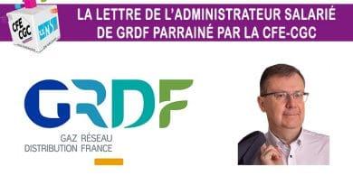 La lettre n° 26 de l'administrateur salarié GRDF