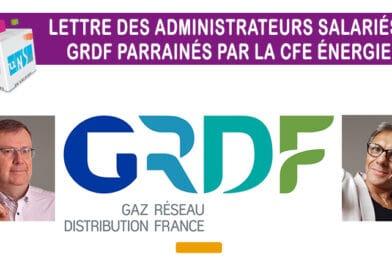 La lettre n° 27 des administrateurs salariés GRDF