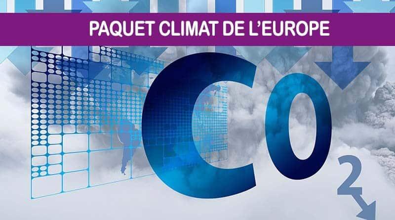 Paquet climat de l'Europe